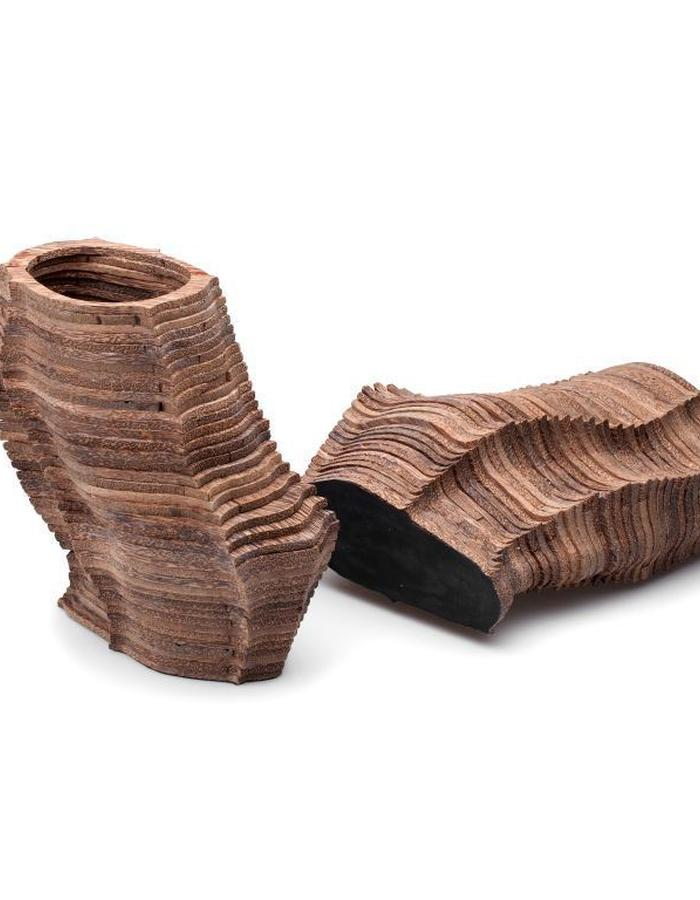 Strata Heels made of cork