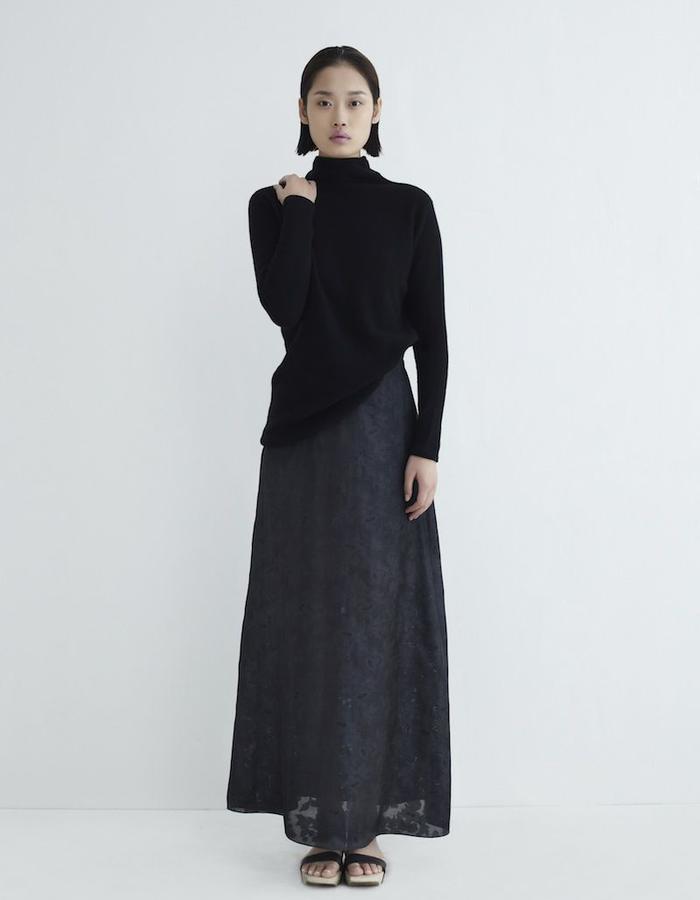 Lena Long Skirt Silk