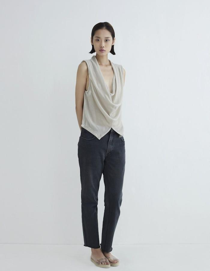 Simone Top Silk Velvet