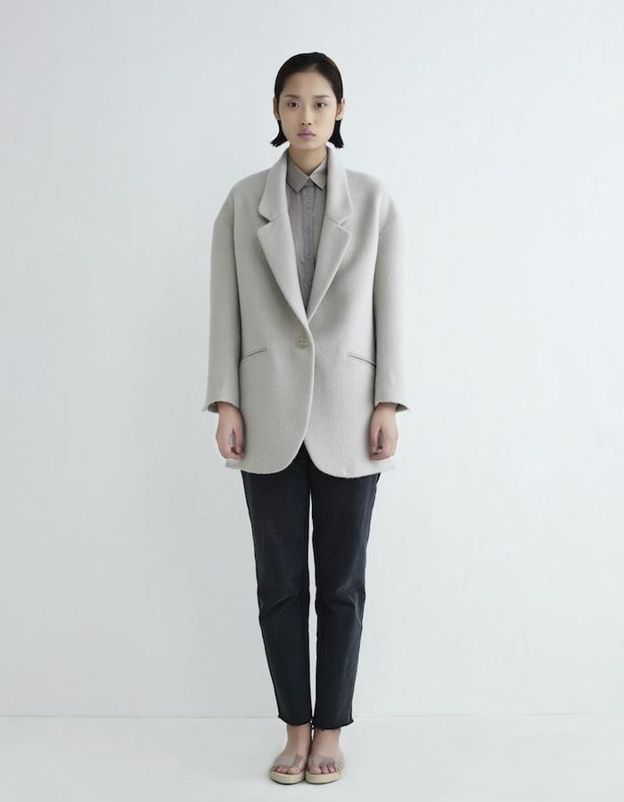 Polar Coat Mohair