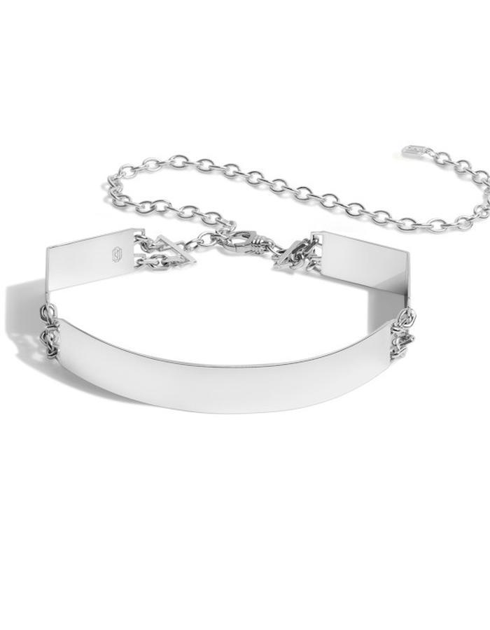 Diaboli Kill Jewelry Sterling Silver Roman Choker