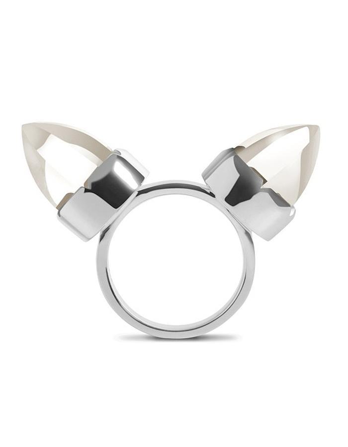 Diaboli Kill Jewelry Sterlign Silver Levant Ring
