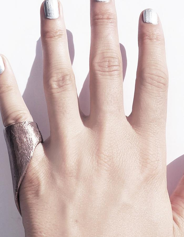 Dreams of Norway jewelry design copper statement ring
