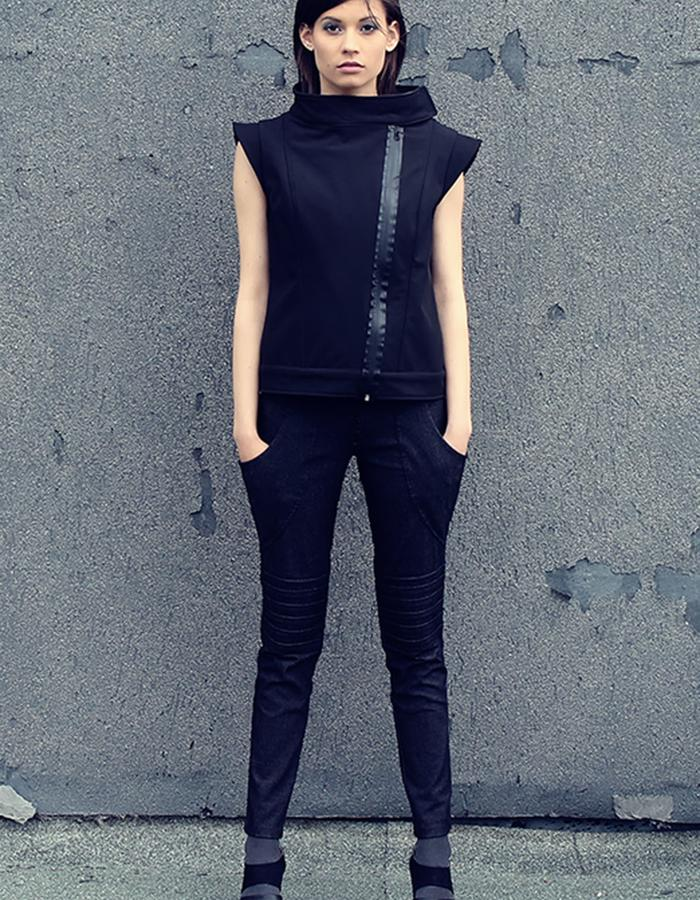 softshell waistcoat and trousers