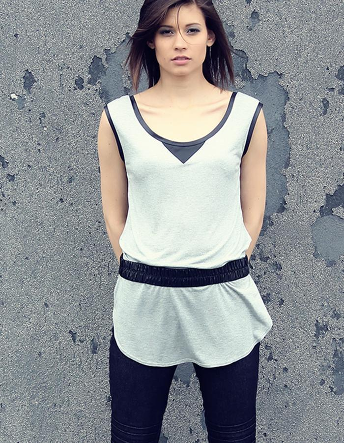 shirt with waterproof belt