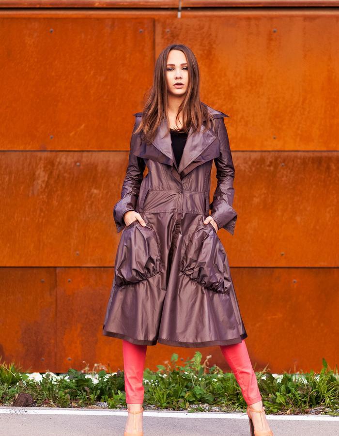 waterproof coat with big pocket
