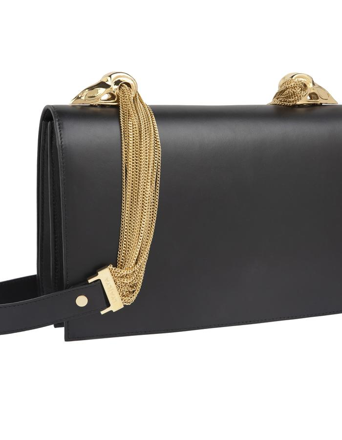 The Lure Shoulder Bag in Black Box with Gold