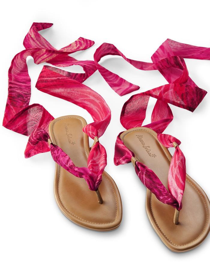 Silk Wrap Sandal- IBIZA