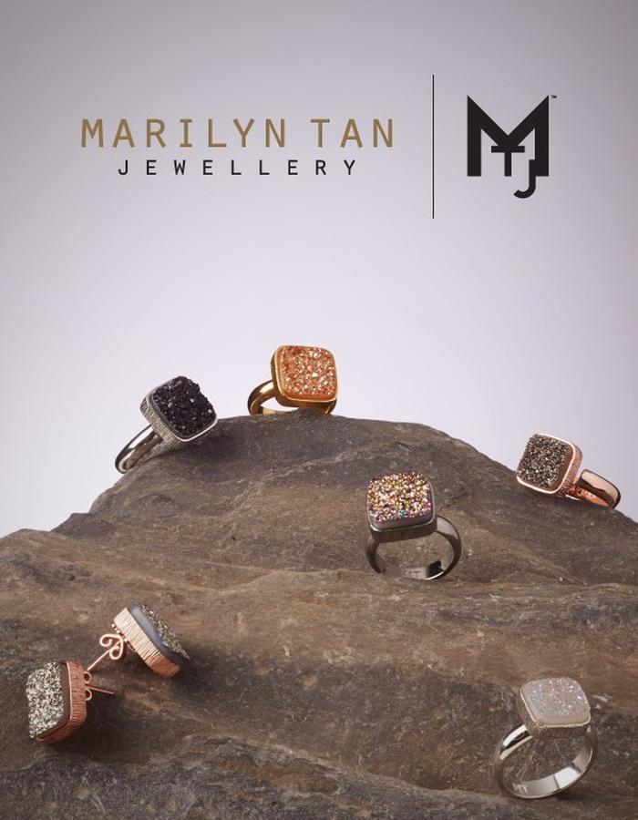 Lone Stone Rings from the Lonetree Collection by Marilyn Tan