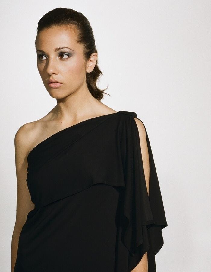 Ingrid Hayes One Shoulder Dress