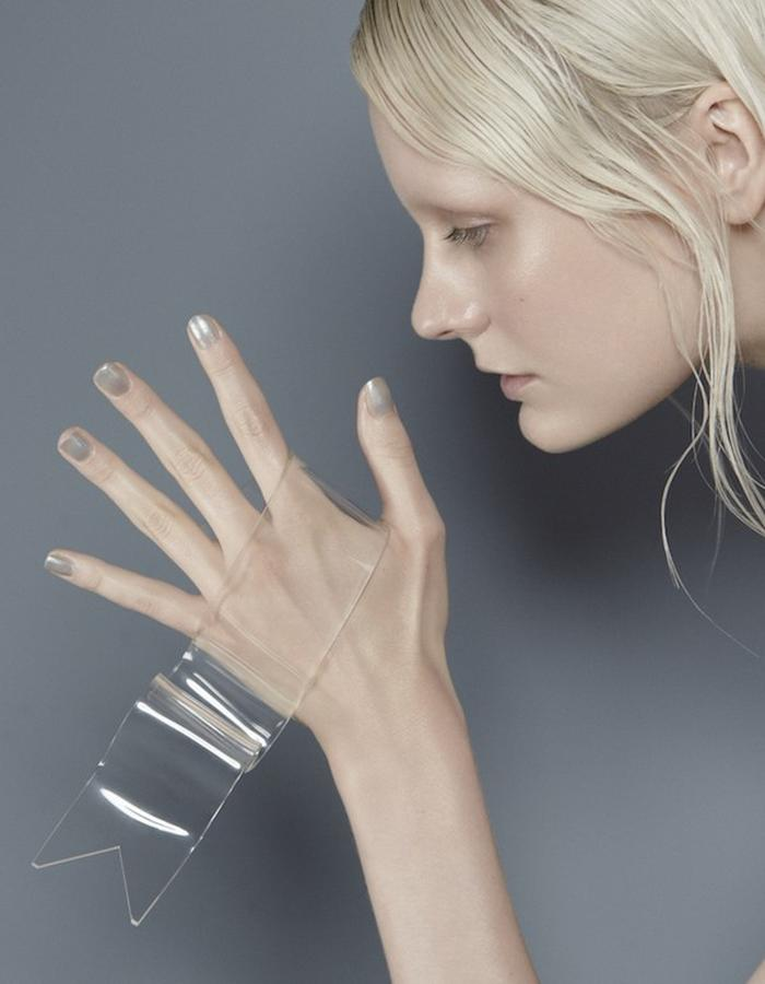 SS15 'ALCYONE DREAMING' PERMANENTLY FLOATING RIBBON PALM RING