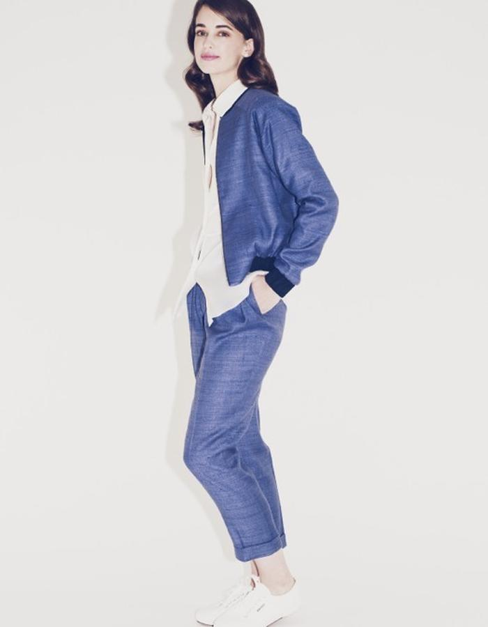 Lilly Ingenhoven SS15 silk suit