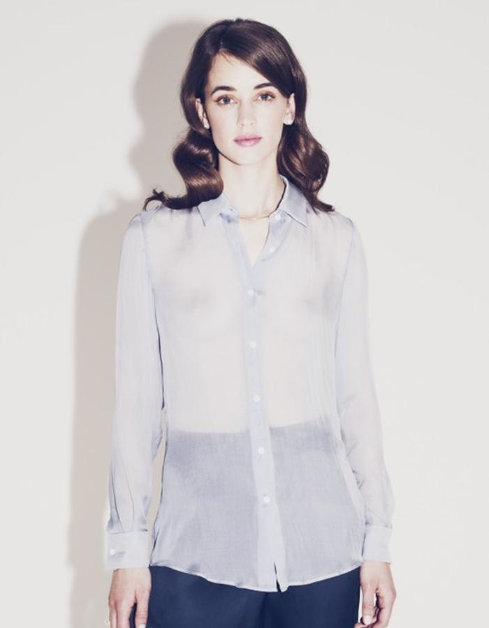 Lilly Ingenhoven SS15 silk blouse
