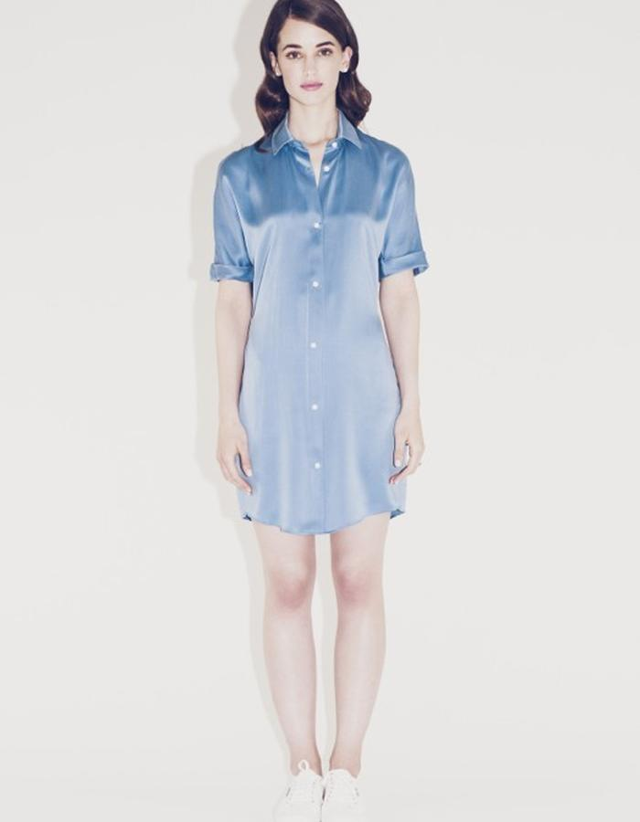 Lilly Ingenhoven SS15 silk dress