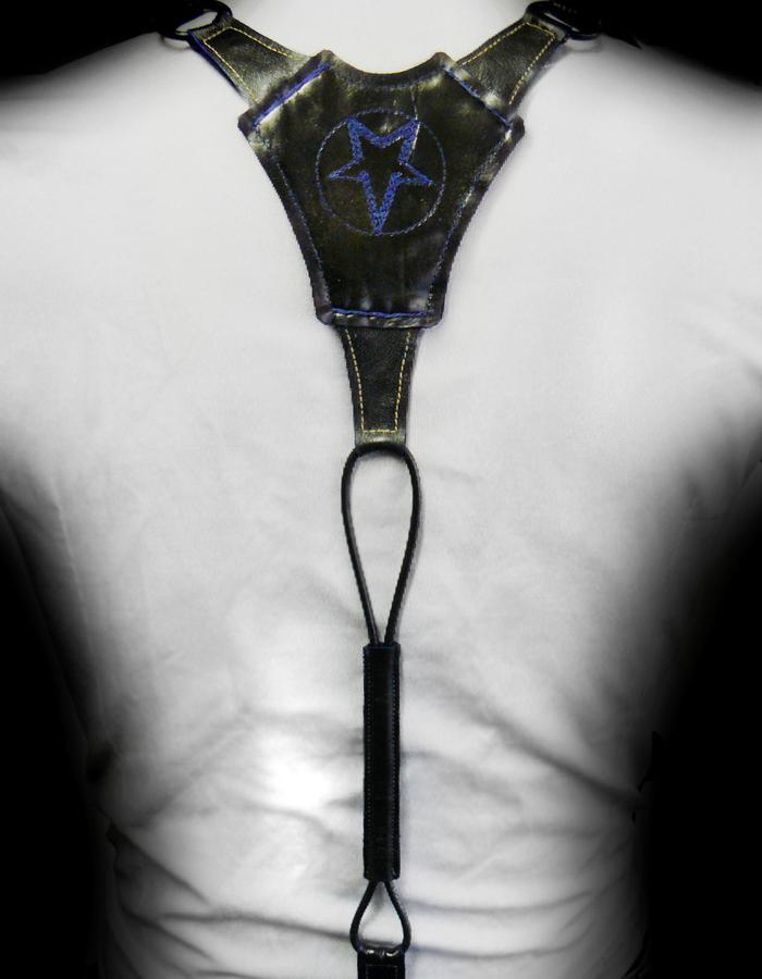 #men #suspenders #braces #leather #black #Marius #Vepsta
