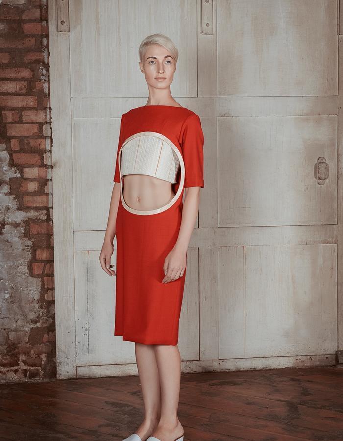 Charlotte Ham Void Red Dress