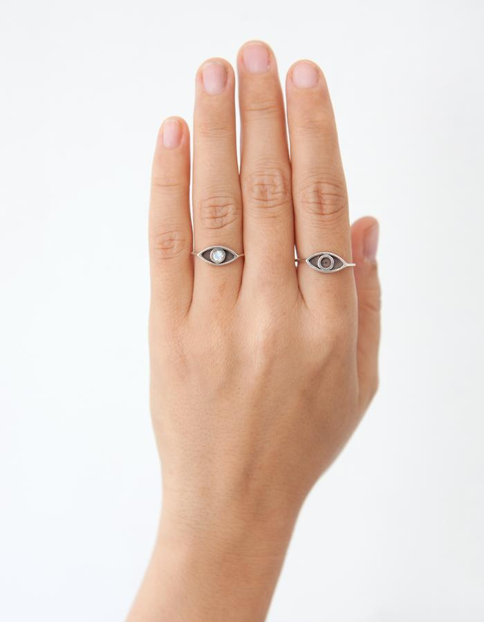 Pair of Eye Rings