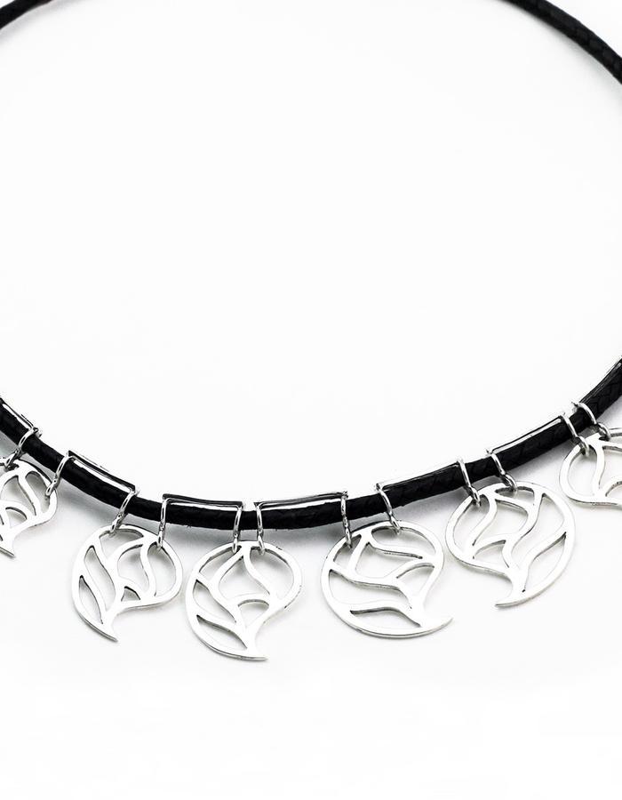 raining drops necklace
