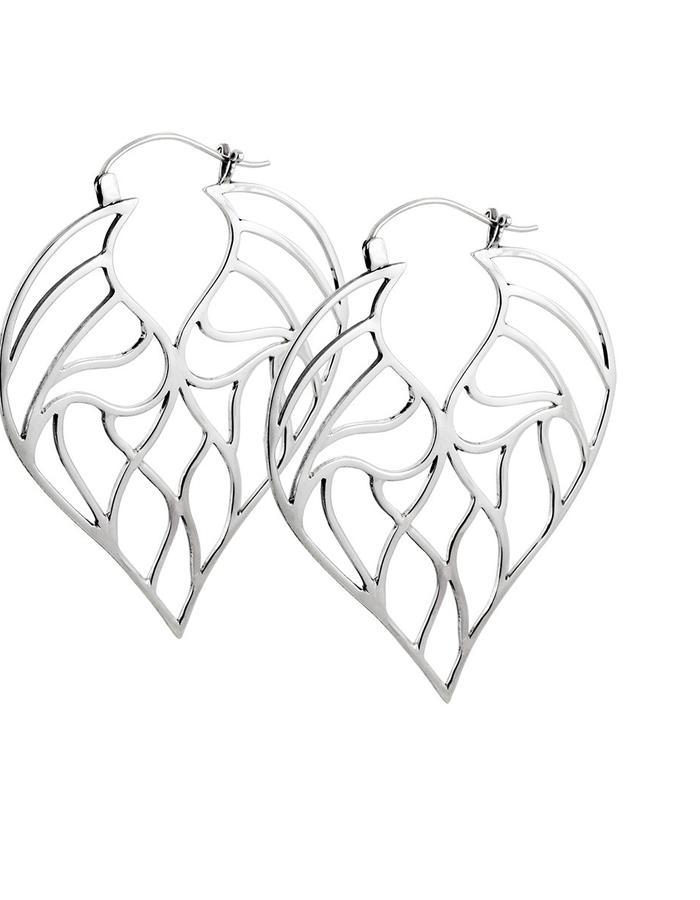 angelic leaves earrings