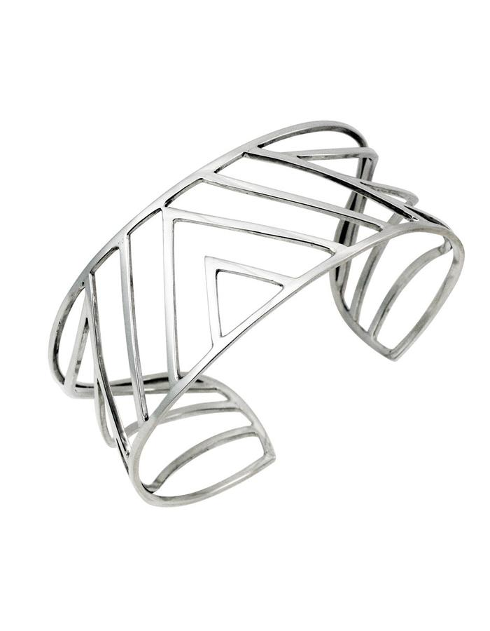 triangles and waves bracelet