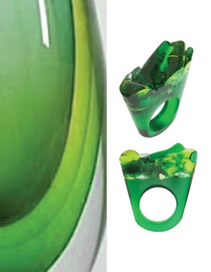 Of a Kind Murano Glass Ring_Piety_Handcrafted by Pasionae