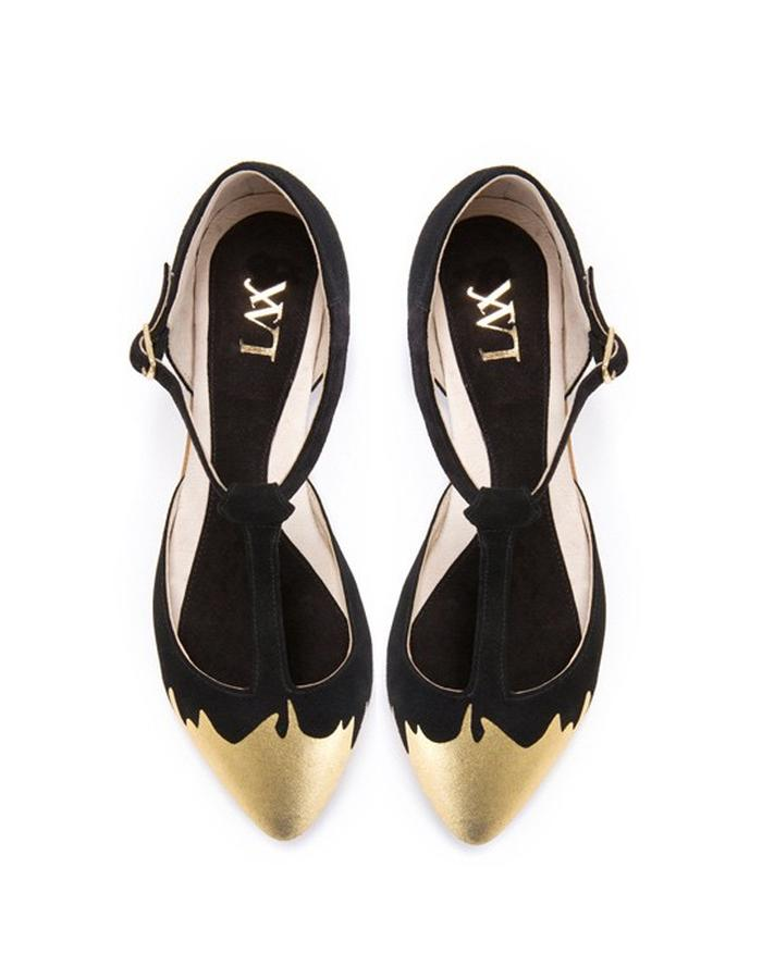 Jazz T Gold Splash Sandal