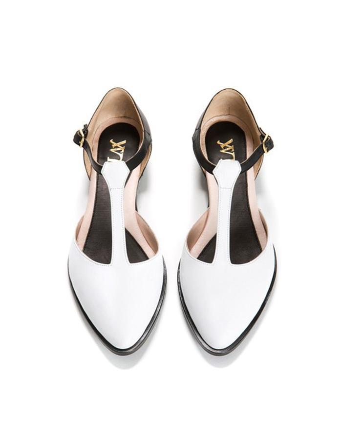 Jazz T Black&White Sandal