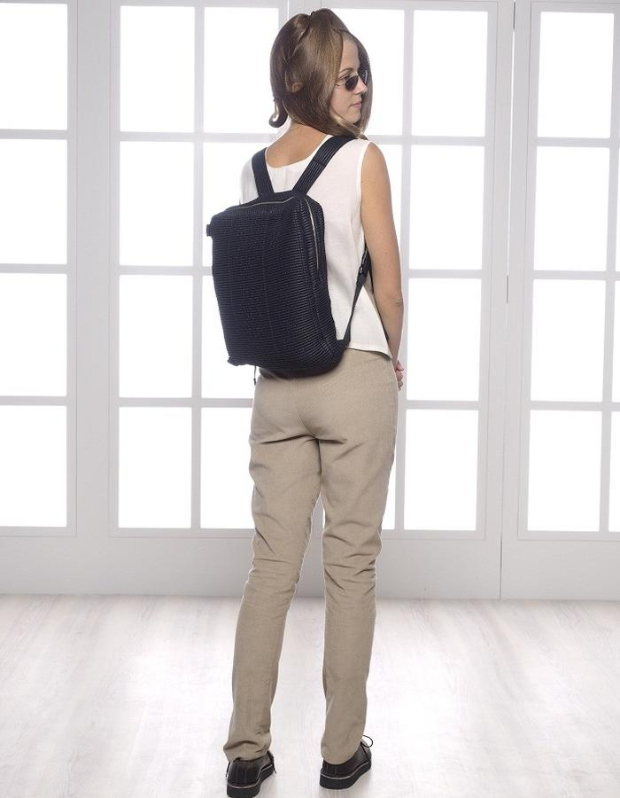 navy blue backpack