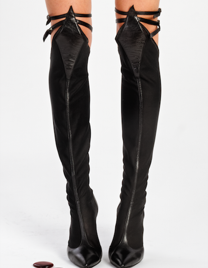Sheba over the knee boots - front