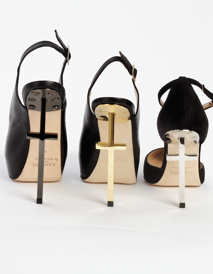 The cross heels collection
