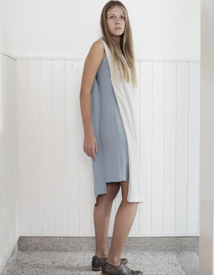 two color dress