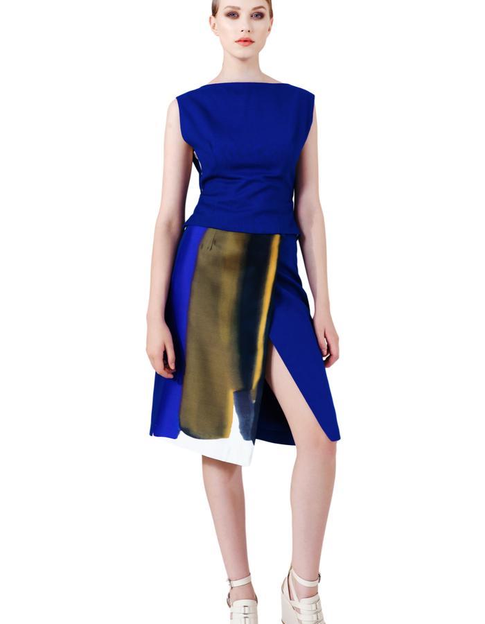 Cobalt V Skirt