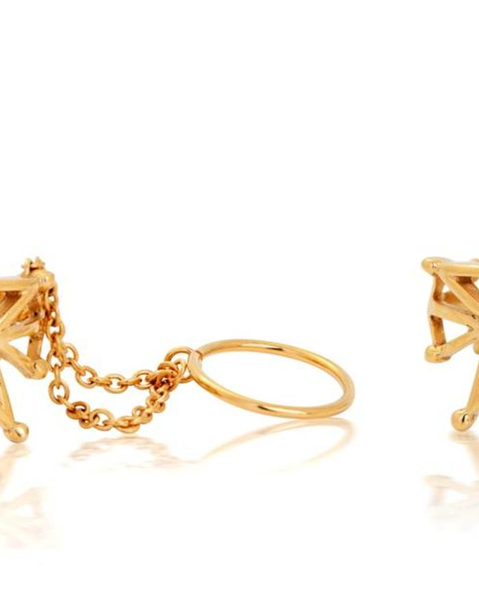 Gisele Ganne Witching Hour Gold ring