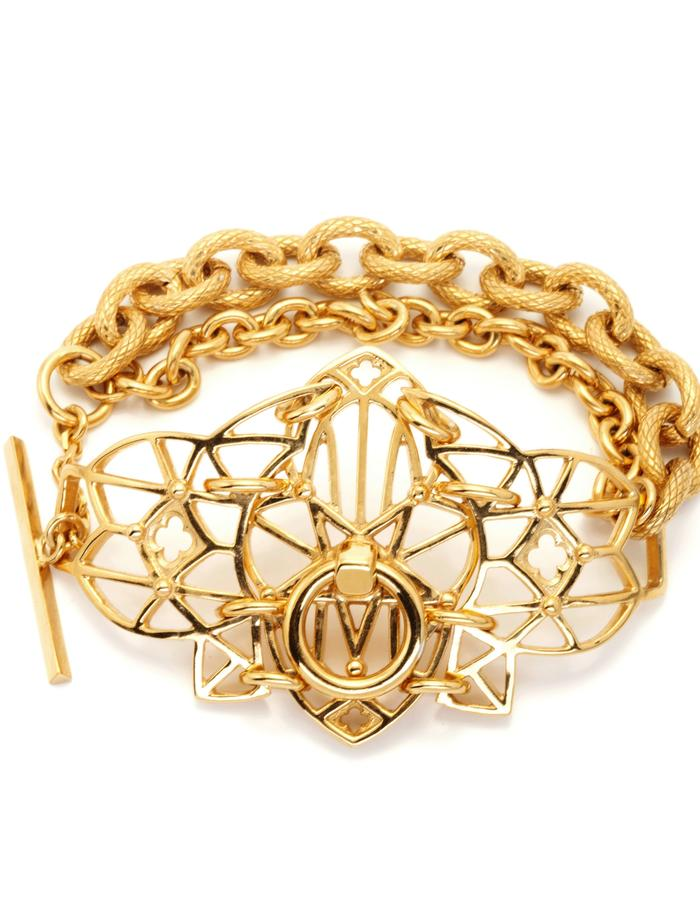 Gisele Ganne Witching Hour Gold bracelet