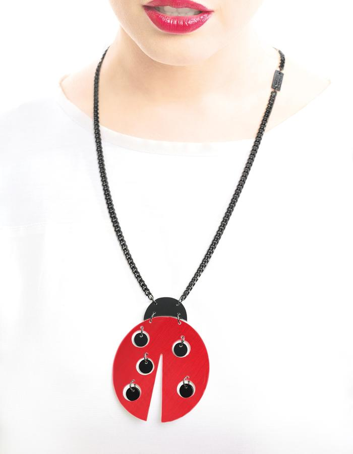 Ready to take off necklace by LIFE IN MONO Jewelry