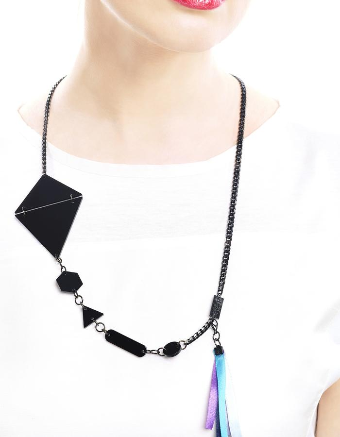 Flying high necklace by LIFE IN MONO Jewelry