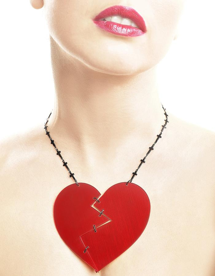Love religion necklace by LIFE IN MONO Jewelry