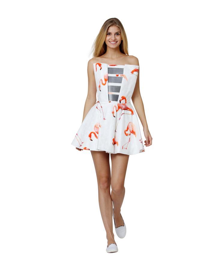 dress, FLEXIBLE SOLAR PANEL S/S 2015, TIQE