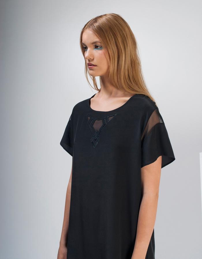 Tee Dress, Silk
