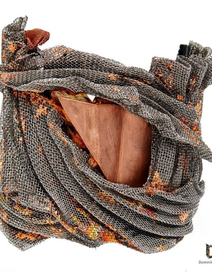 Copper/ Fine Mesh Bracelet Dominika Syczynska