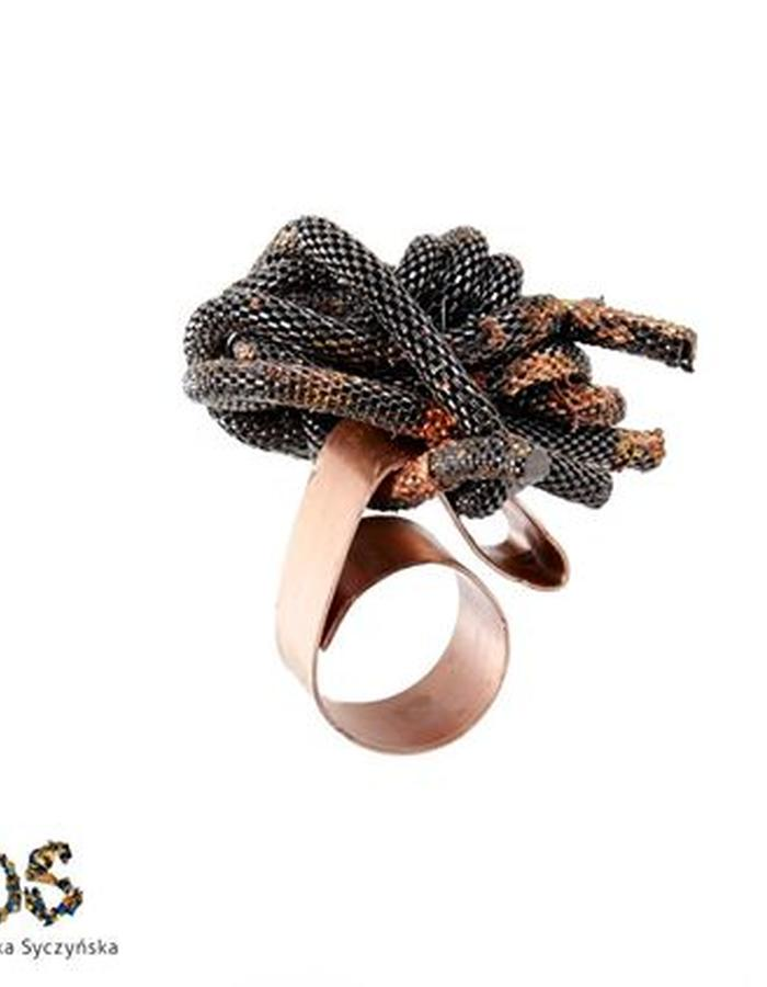 Copper/Stainless Steel Ring Dominika Syczynska
