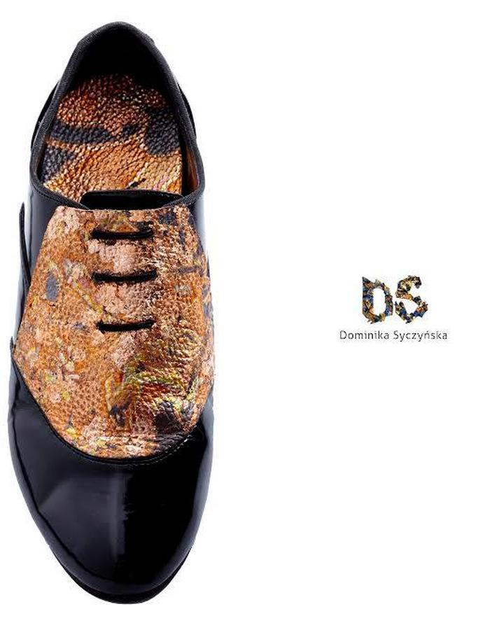 Copper/Leather Shoes Dominika Syczynska