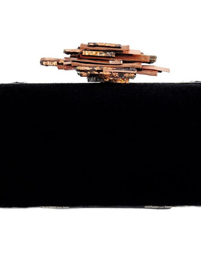 Copper/Cashmere Clutch Dominika Syczynska