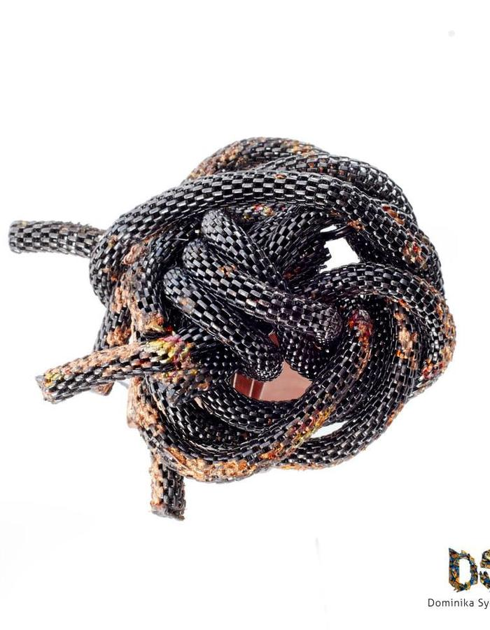 Copper/Stainless Steel Ring Dominika Syczynska
