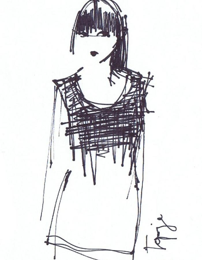 Drawing croptop