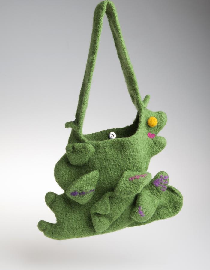 Handbag She Dragon Marmeu - unique, handmade handbag