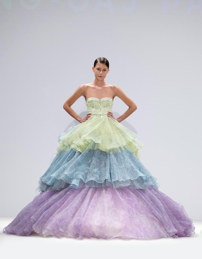 Ong-Oaj Pairam SS15 Spring Summer 15. Finale Dress.