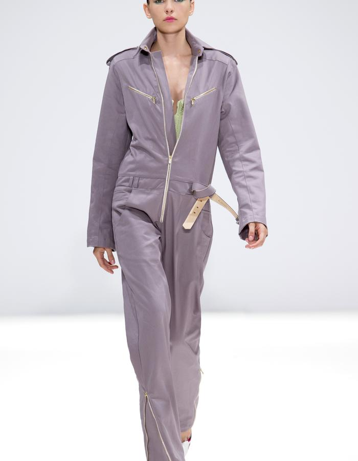 Ong-Oaj Pairam SS15 Spring Summer 15. Women's Boiler Suit