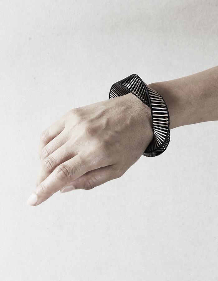 M.C.E Swirl bracelet by Vulantri