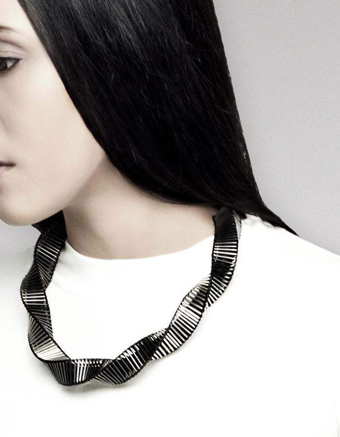 M.C.E Swirl necklace by Vulantri